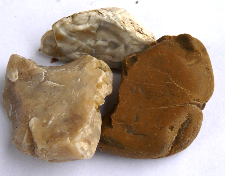 how to tell chert from flint