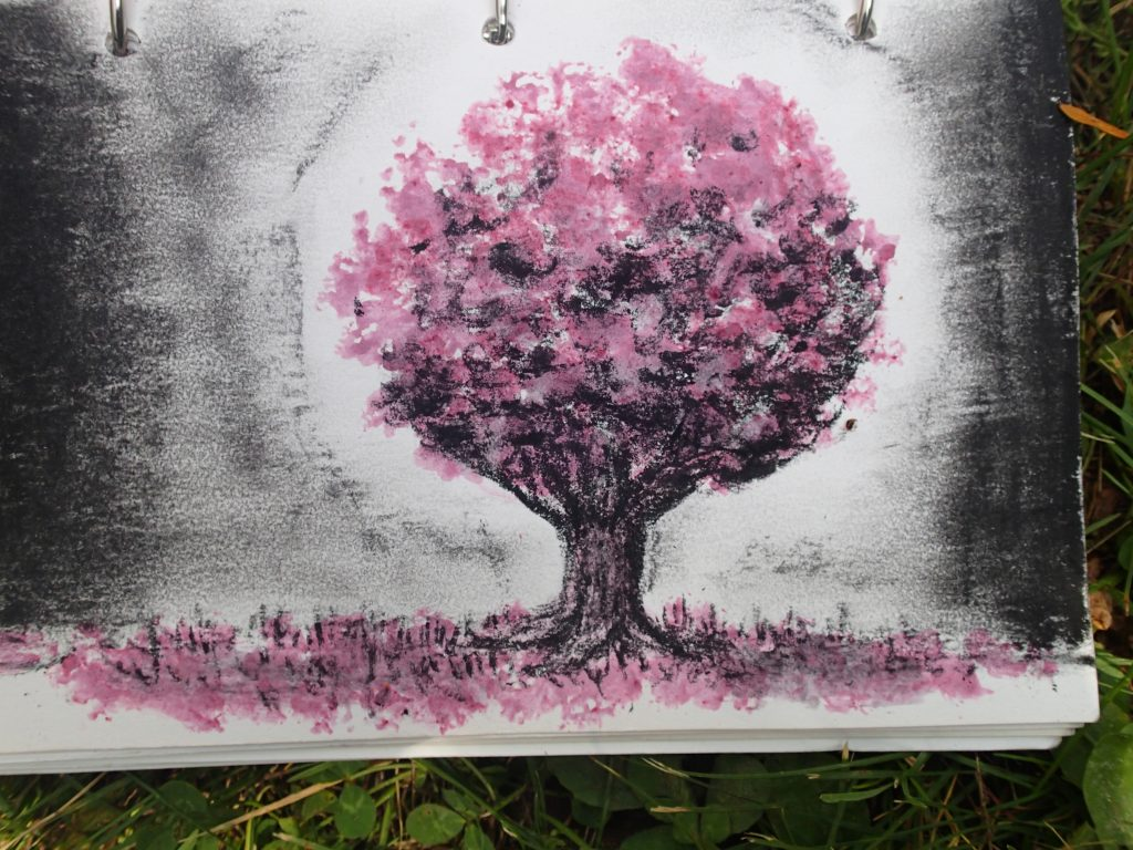 Lilia Murphy Tree of Hope - natural coloring with mulberry