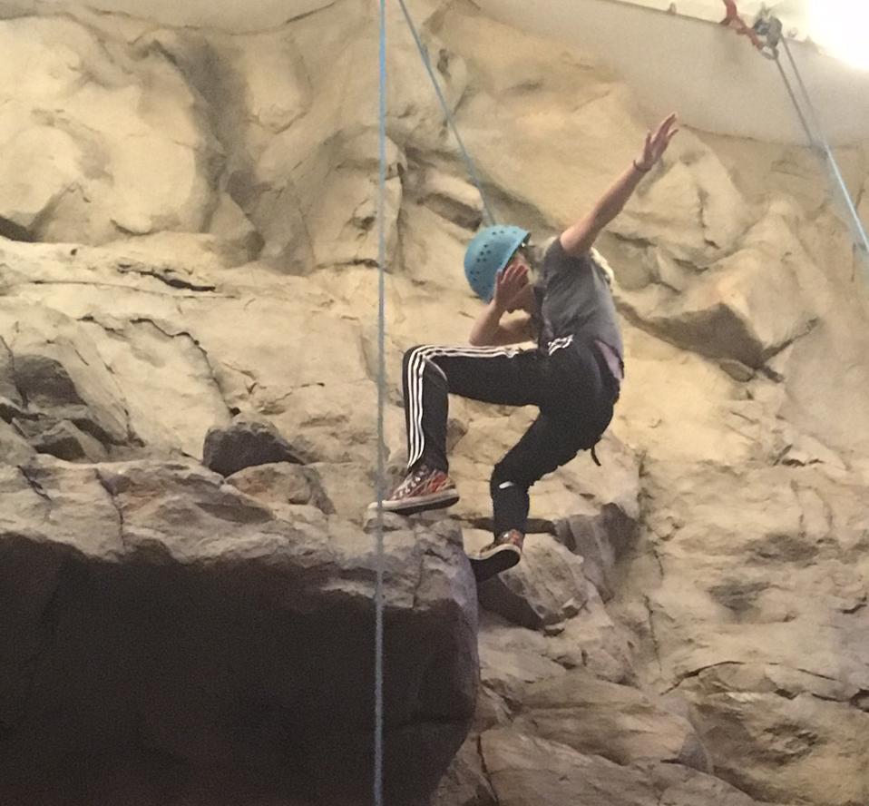 Rock Wall Dancer photo by Maggie Lund